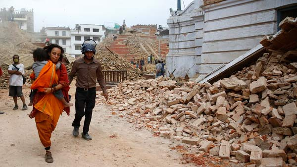 Terremoto Nepal. Dona ahora